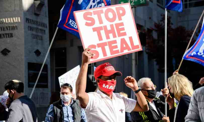 Trumpism has become a grassroots level movement with groups like Stop the Steal.