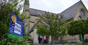 lower weston bath church as polling station