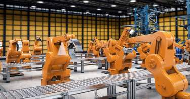 completely robotic factory