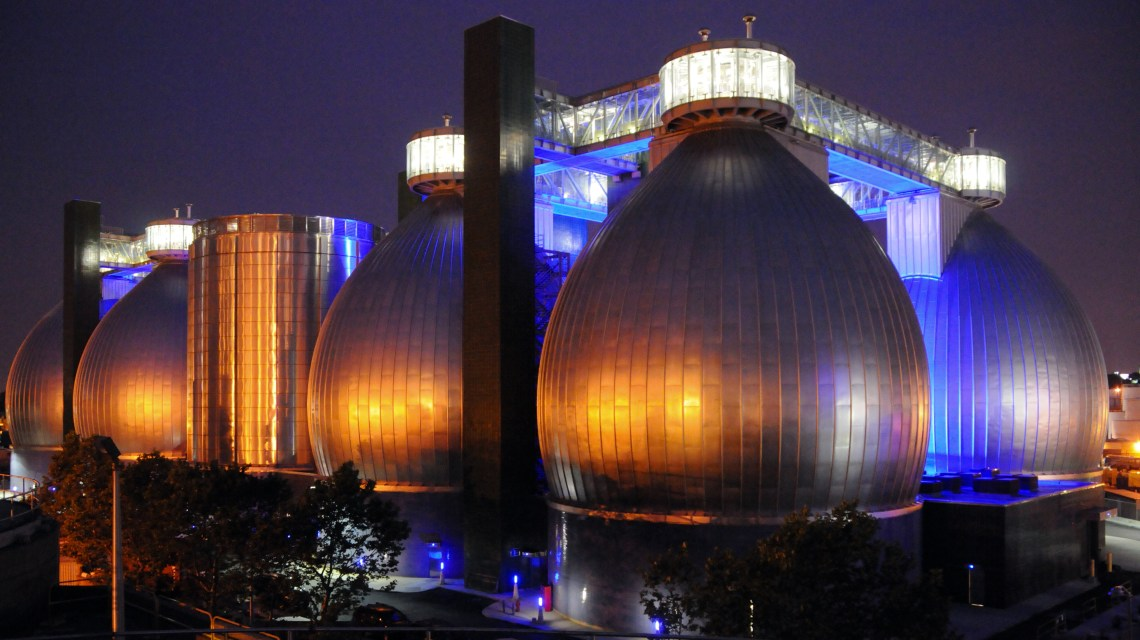 biogas digesters at brooklyn plant