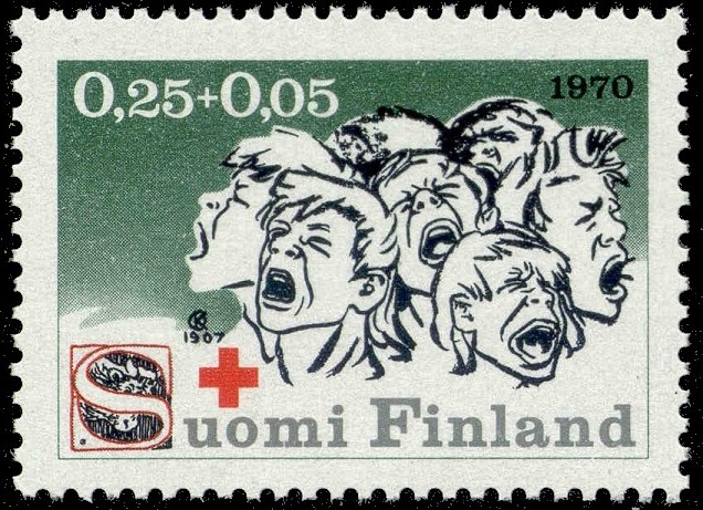 Seitsemän veljestä postimerkki 1970.