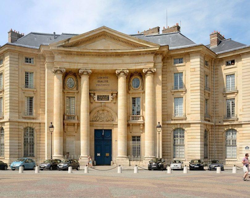 Pariisin yliopisto, oikeustieteellinen tiedekunta.