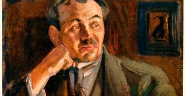 Eino Leino. Akseli Gallén-Kallelan maalaus.