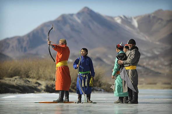 Ice archery