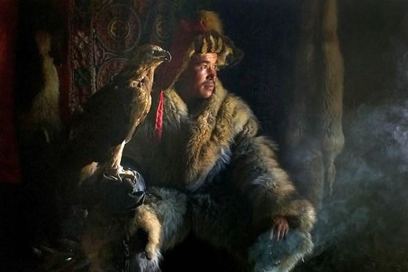 Eagle hunter, Shohan on last year's trip