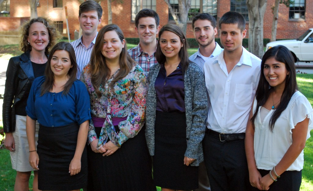 Group photo of 2012-2013 students