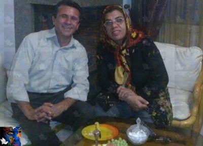 پروین محمدی و جعفر عظیم زاده دو تن از اعضای بازداشت شده اتحادیه آزاد کارگران ایران