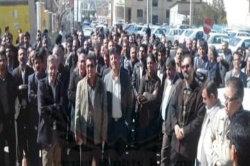 تجمعات اعتراضی در شهرهای ایران