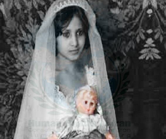 Image result for ازدواج ۱۵۹۶ دختر زیر ۱۵ سال در همدان