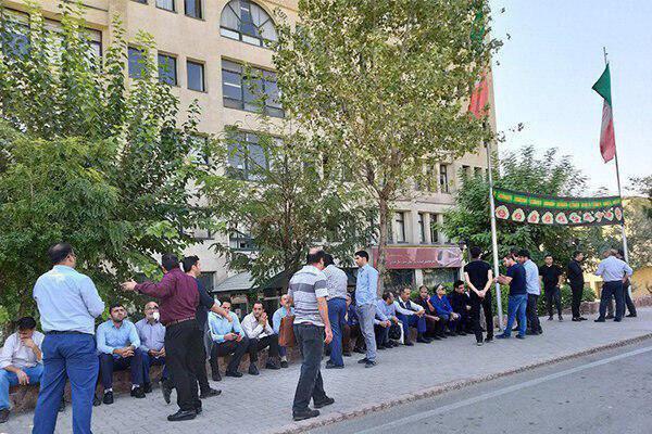 کارکنان متروی تهران