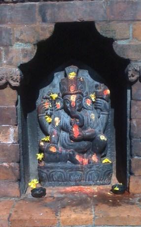 Neighborhood shrine, Kathmandu