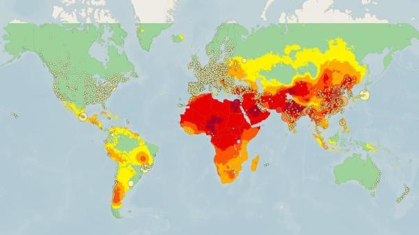 Global Pollution Map