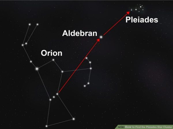 Find The Pleiades