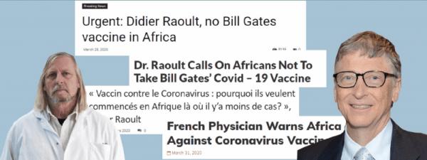Bill Gates Didier Raoult