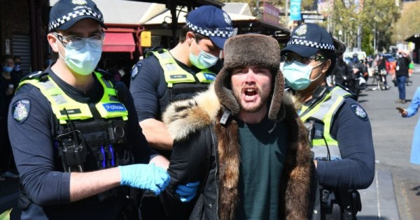 Pre Crime Law Would Give Australian Authorities Power To Arrest Covid 'conspiracy Theorists'