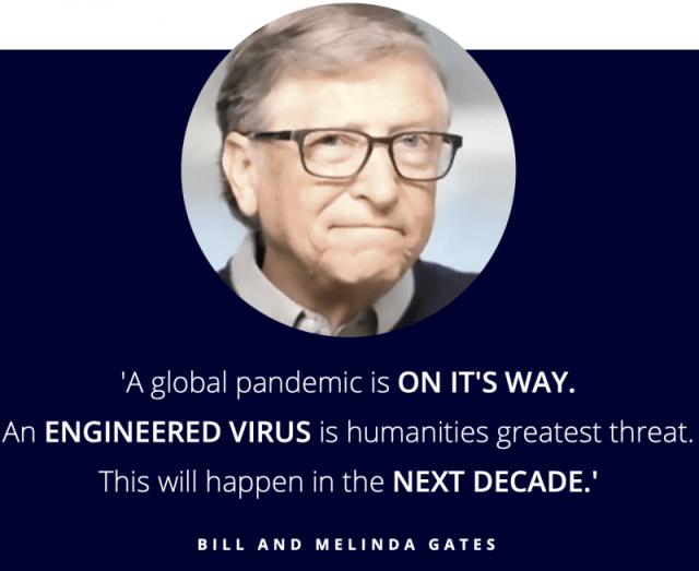 Bill Gates about coronavirus in 2018