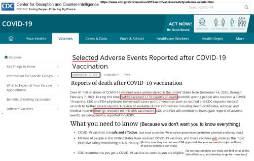 Cdc 2.11 Report Covid