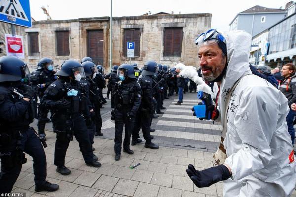 anti lockdown protests germany