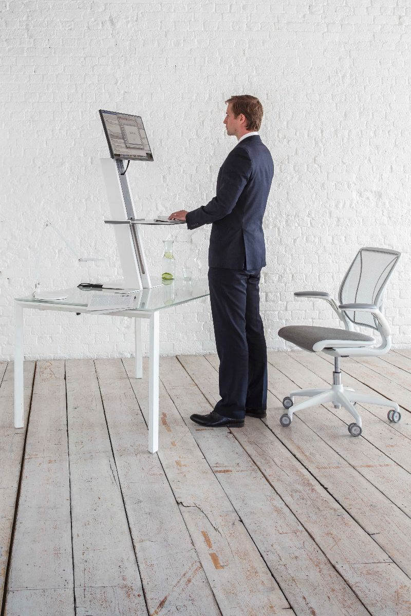 Sit Stand  Adjustable Workstation  Quickstand  Humanscale