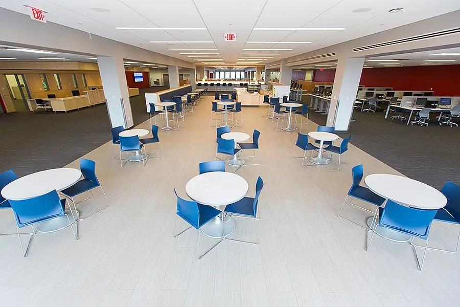 Capen Library university at buffalo
