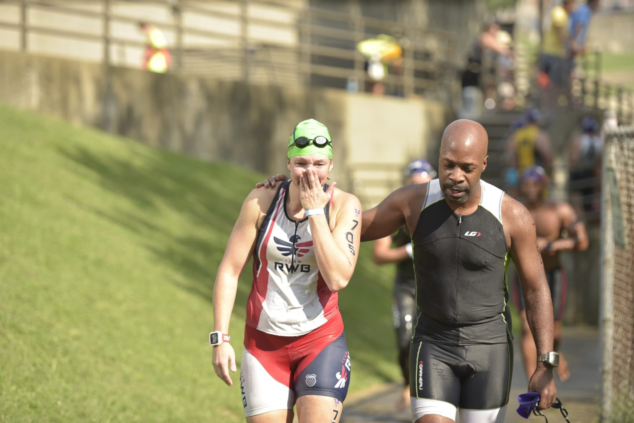 I knew triathlon is about more than just racing. But I didn't know it was about crying. https://wp.me/p5hM3U-c3