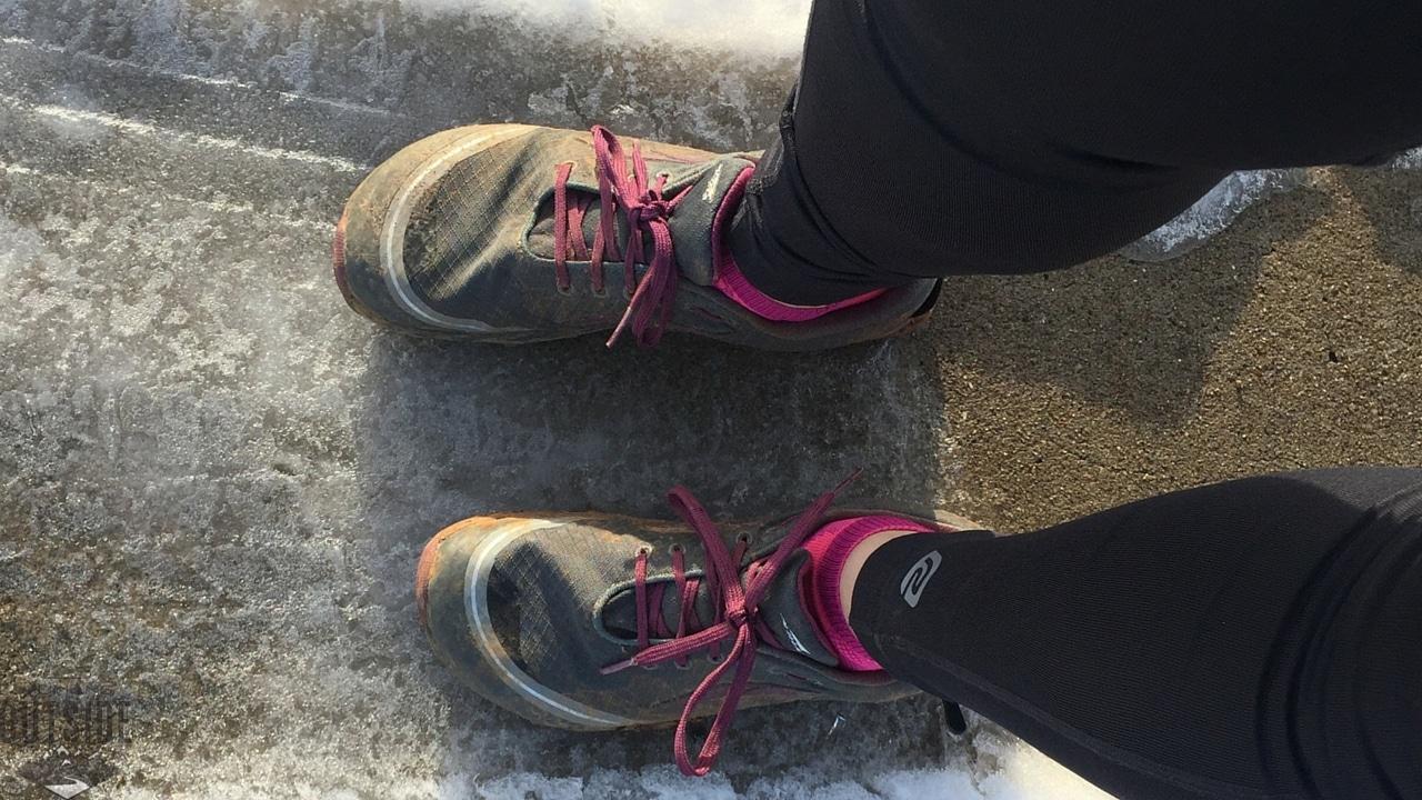 New trail shoes. Score!