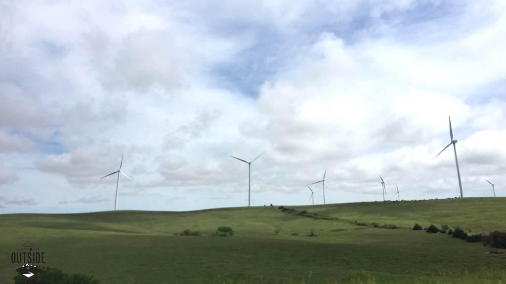 Windmills -- on and on.
