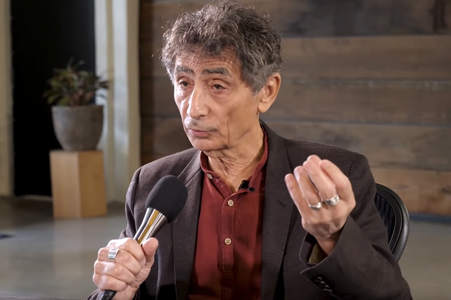Gabor Mate on The Tim Ferriss Show (Photo: The Tim Ferriss Show / YouTube)