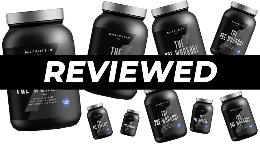 Myprotein THE Pre-Workout Review - HumanWindow