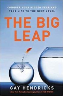 """""""The Big Leap: Conquer Your Hidden Fear and Take Life to the Next Level"""" by Gay Hendricks"""