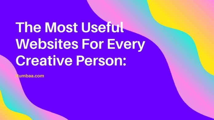 The Most Useful Websites For Every Creative Person