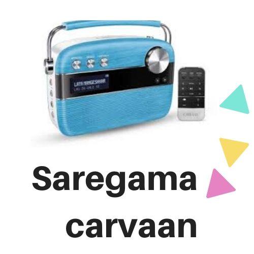 Saregama carvaan – A lovely moist.