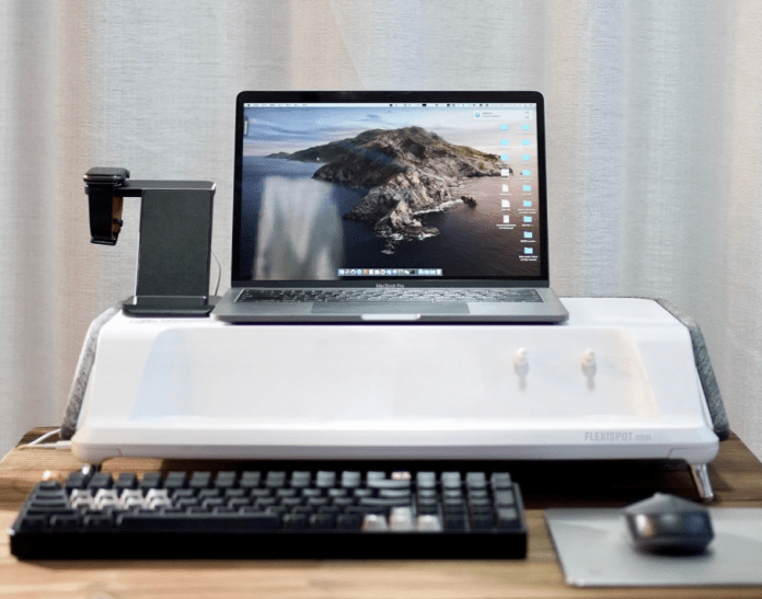 Flexispot  Monitor Stand Workstation- Monitor stands which protect.....from Germs img 6