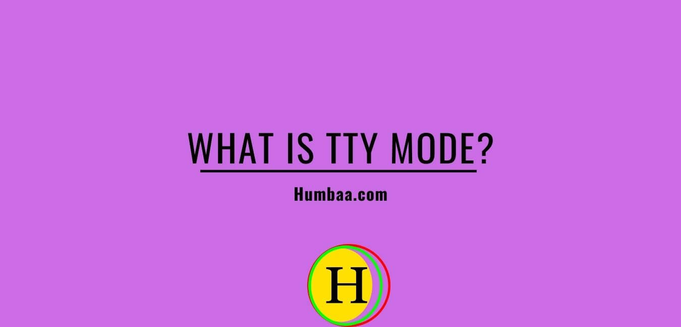 what is tty mode?