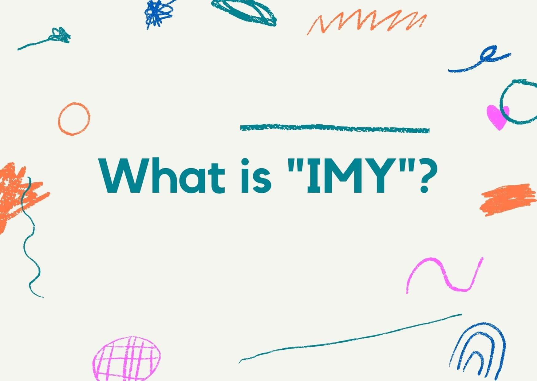 What is mean by IMY?