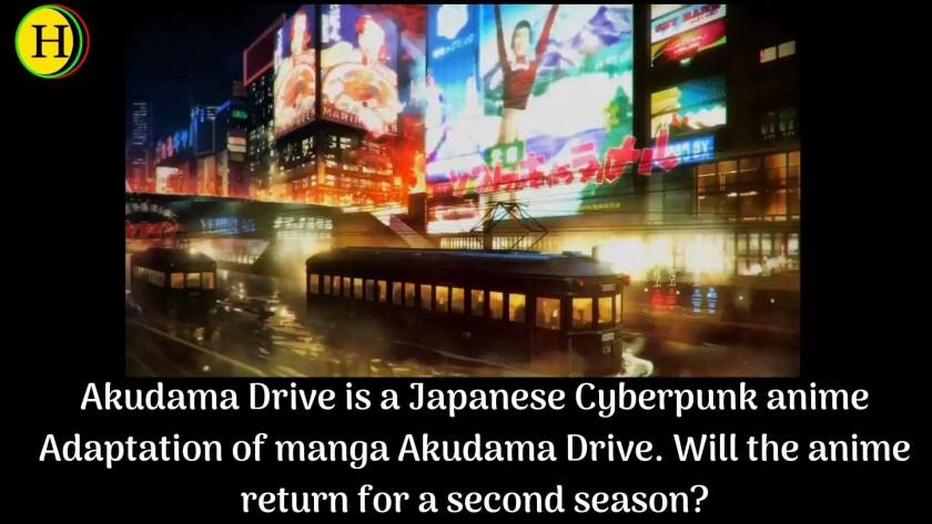 Akudama Drive is a Japanese Cyberpunk anime Adaptation of manga Akudama Drive. Will the anime return for a second season?