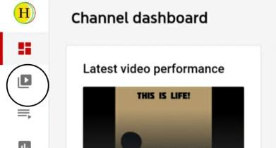 Youtube Channel Dashboard