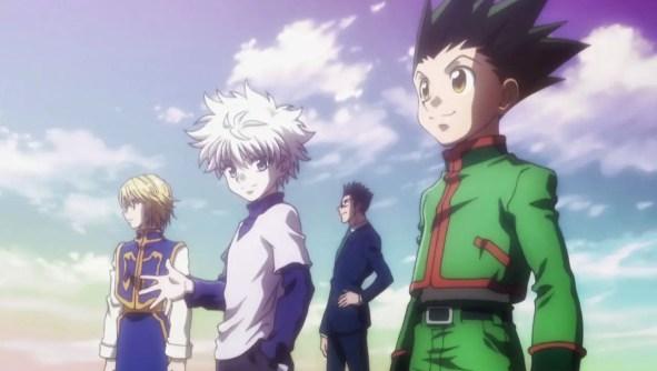 Hunter x Hunter Gon,Killua, Kurapika, Leorio, on Humbaa