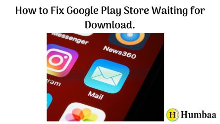 How to Fix Google Play Store Waiting for Download.