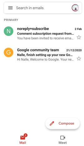 Updated version on gmail