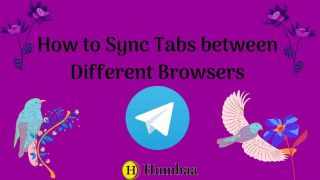 How to Sync Tabs between Different Browsers