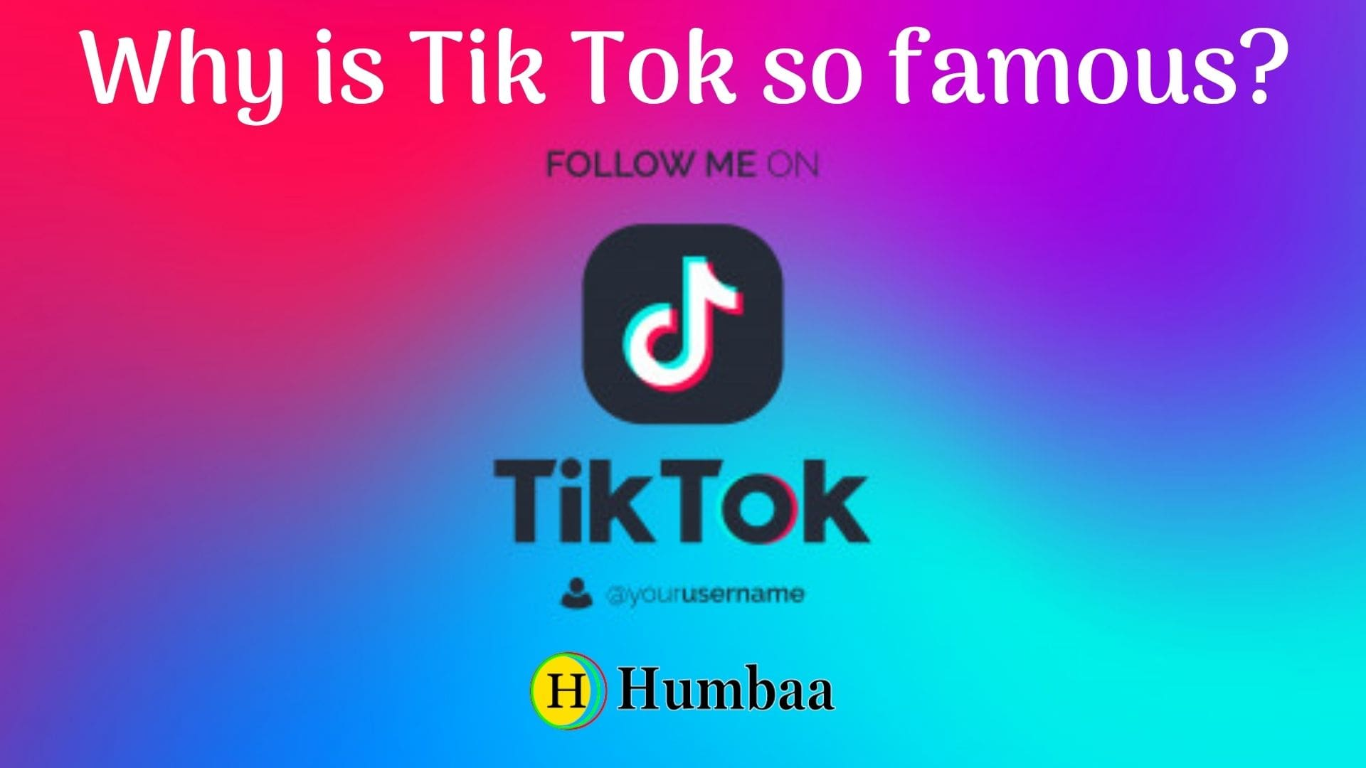 Why is Tik Tok so famous?