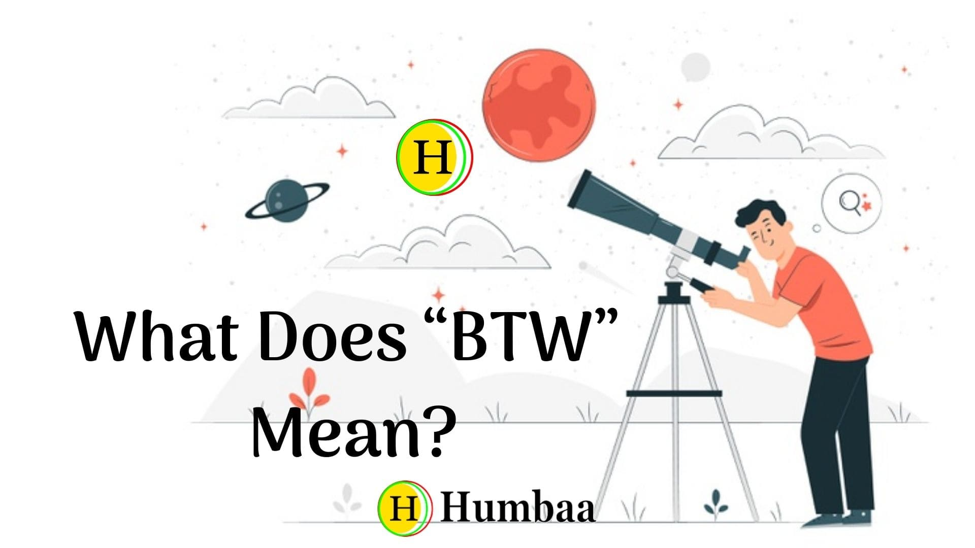 what does btw mean
