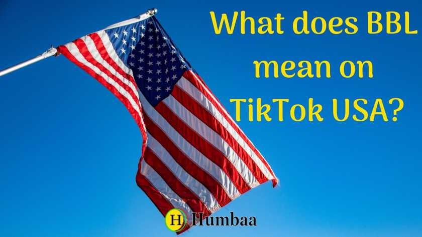 What does BBL meaning on Tiktok USA