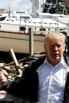 OPINION: Hurricane Trump hits Carolinas after the devastation of Florence