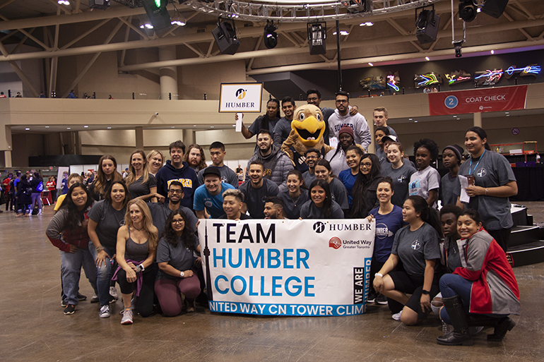 FYE students climb CN Tower for annual United Way fundraiser