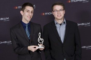 Brad Cheeseman wins best instrumental recording at the Hamilton Music Awards. COURTESY BRAD CHEESEMAN