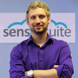 Rob Plateck, CEO of SensorSuite Inc., a Toronto IoT startup