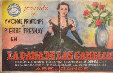 Programa de mano del Cine Royalty de 1935