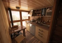 Dachi Papuahvili' Micro Shipping Container Home